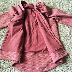 Lululemon Mauve Pink Jacket / Zip-up Hoodie